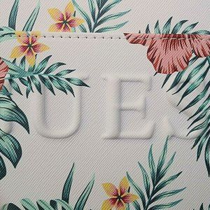 Guess Bags - Guess Wristlet Tropical Floral White